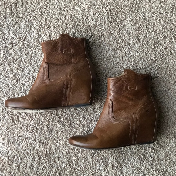 f7c64ca3ca9 Frye Shoes - Frye Women s Carson Wedge Bootie